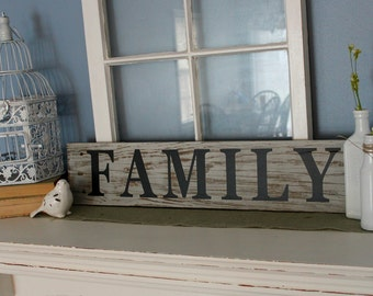 FAMILY,,,, vinyl lettering wall words Quotes sticley letters decals DIY craft supply