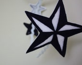 Blue Nautical Star Headband