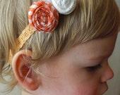 Orange Creamsicle Headband