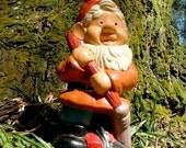 Vintage Garden Gnome, Mr Tidy