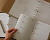 DIY Planner and Calendar - PDF digital file