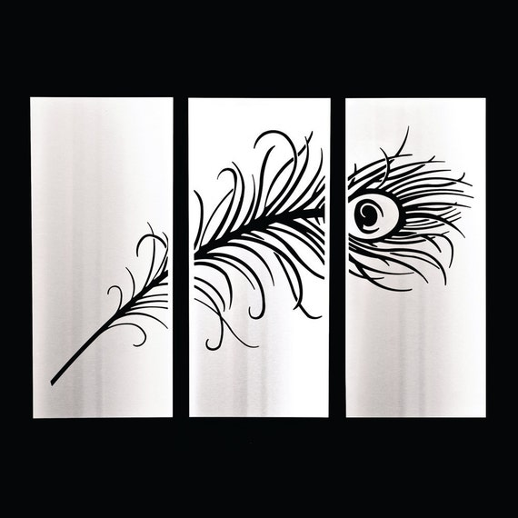 Items similar to peacock stainless steel wall art on etsy for Stainless steel wall art