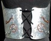 Metal Steampunk Waist Corset