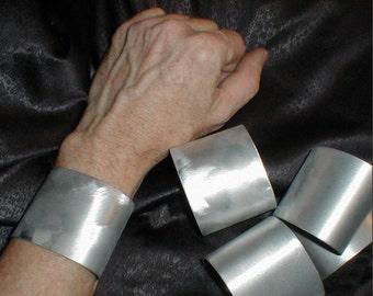 Brushed Metal Cuffs