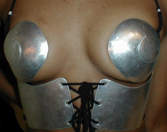 Heavy Metal Corset in 32A to 34C cups