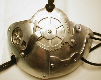 Steampunk aluminum Sizes A-B cups
