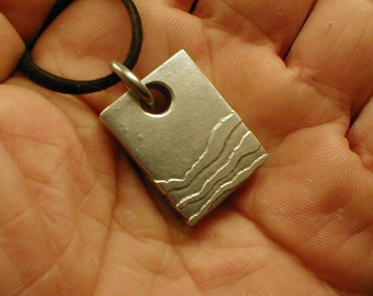 Etched Layered Necklace