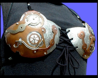 Steampunk Metal Bra series 002 all sizes