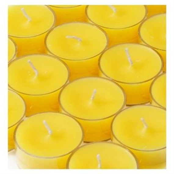 10 FRESH CUT ROSES Soy Tea Lights Yankee Type Gift Boxed