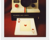 Polaroid camera print - art print of 4x5