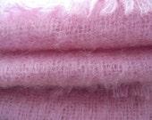Vintage Luscious Rose  Wool Scarf  Shawl