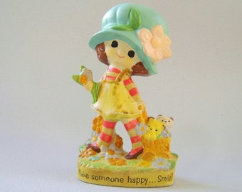 Vintage Mopsie Figurine Ceramic Japan World Wide Arts 1973
