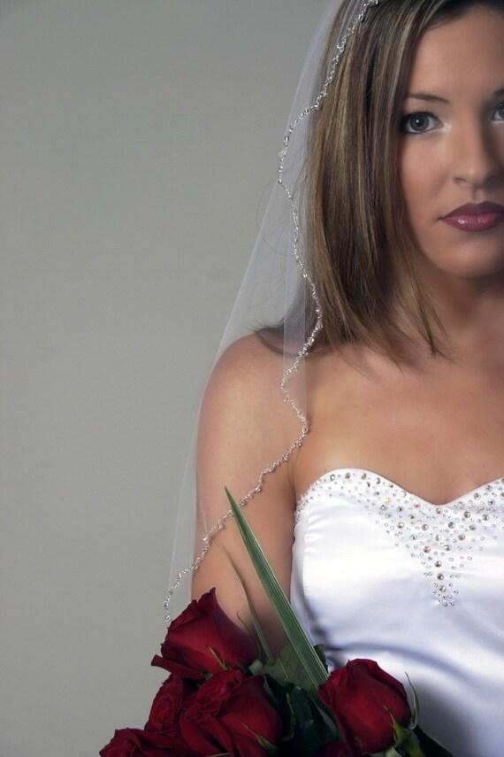 RESERVED for erinsriley - custom bridal veil