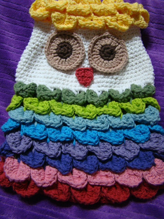 Crochet PDF PATTERN Owl Backpack OR Satchel Option