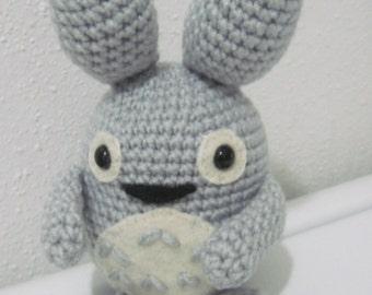 My Neighbor Totoro inspired 8 inch Amigurumi
