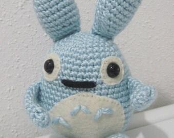 Amigurumi crochet My Neighbor Totoro inspired 8 inch