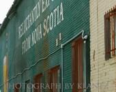 Toronto AlleyWay Photograph Alexander Keiths Beer 5x7