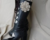 RESERVED for ladida Steve Madden cut out boots sz. 6.5
