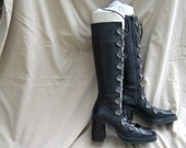 RESERVED for Rlephant size 9 military gladiator boots, modified per request