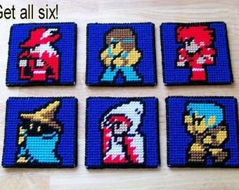 Final Fantasy Coaster Set (6)