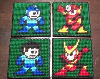 Mega Man Coaster Set (4)