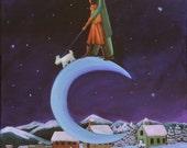 Moonlit Walk (Archival Print 8 x 10), Romance Series