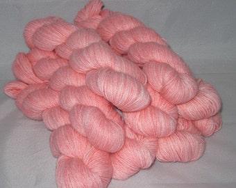 Girlie- Hand-dyed Alpaca / Wool yarn 200 yds. per skein