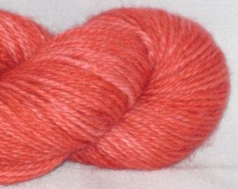 Raspberry- Hand-dyed Superfine Prime Alpaca 220 yds. per skein yarn