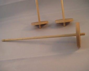 """Handmade Bottom Whorl / Supported Drop Spindle 10"""""""