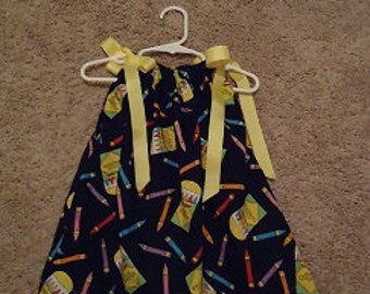 This is a pillowcase dress