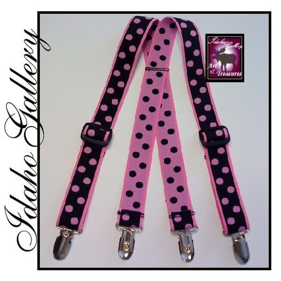 Novelty Baby Suspenders 6 to 12 Months