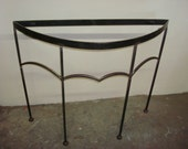 Contemporary Curved Side Table