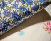 RESERVED LISTING FOR 3 Little Birds Boutique - Regency Print with Teeny Blue Flowers