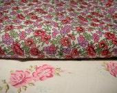 Regency Print with Teeny Pink Flowers