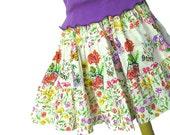 Custom Listing for Pat - Flower Garden Skirt and Top Set Size 6