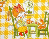 Little Sweeties -- Vintage Wallpaper
