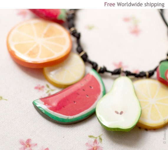 Fruit necklace - Free shipping worldwide (BN011)