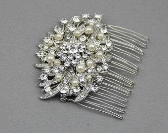 Bridal Hair Comb, Vintage Hair Comb