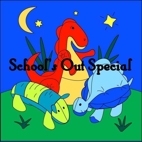School's Out Special  (Coloring Book and Paper Dolls / Puppets)