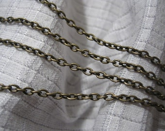 20 FT Iron Link Chain (2mm) - Bronze