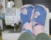 Fleece Eeyore Socks Premium Fabric