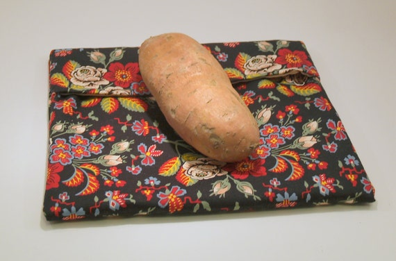 Microwavable Potato Bag Vera Bradley Fabric