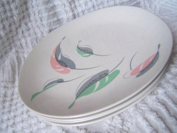 Set of 4 Vintage Kokura Ware Japan FAIRWIN Dinner Plates  ON SALE