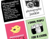 Phunky Photo and Photographer - SCRABBLE Pendant size - Digital sheet-pendant - Buy 2 Get 1 Free