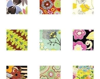 Mod Flora- Scrabble Size Pendant Images - Digital Images - BUY 2 GET 1 FREE