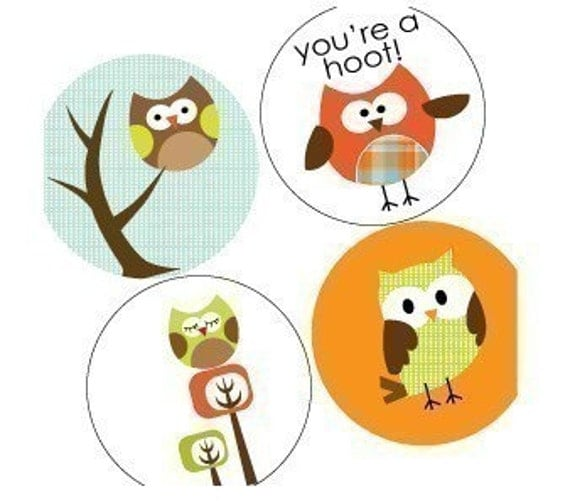 OWL PARADE-CUTE-ONE INCH ROUND TILE IMAGES-PENDANT IMAGES-DIGITAL SHEET-COLLAGE-BUY 2 GET 1 FREE