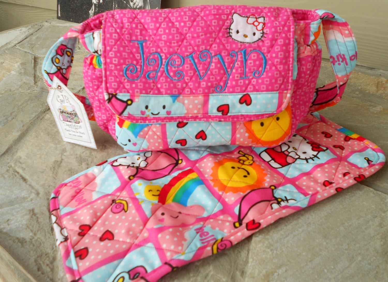 hello kitty baby doll diaper bag sets