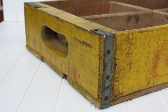 Antique Coke Crate