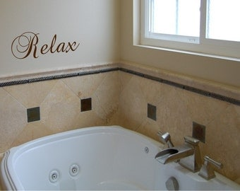 Relax-Vinyl wall decal