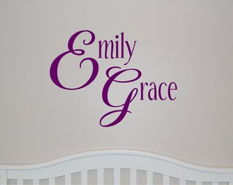 Elegant Girl - Vinyl Wall Decal